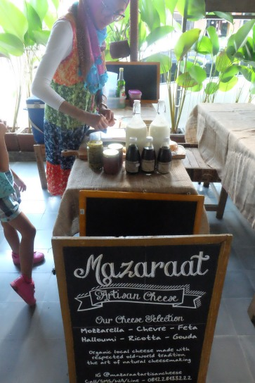 Mazaraat Artisan Cheese makes delicious cheese with local ingredients