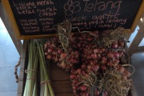 Martani beautiful shallots and lemongrass